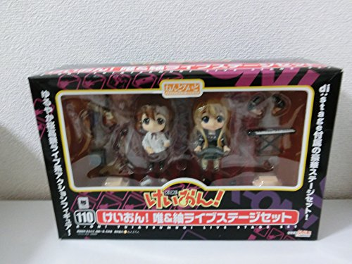 Nendoroid K-ON! Yui and Tsumugi: Live Stage Set WonFes 2010 Summer Nendoroid Figures