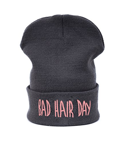 Beanie hat Bonnet Fashion Jersay Oversize Bad Hair Day