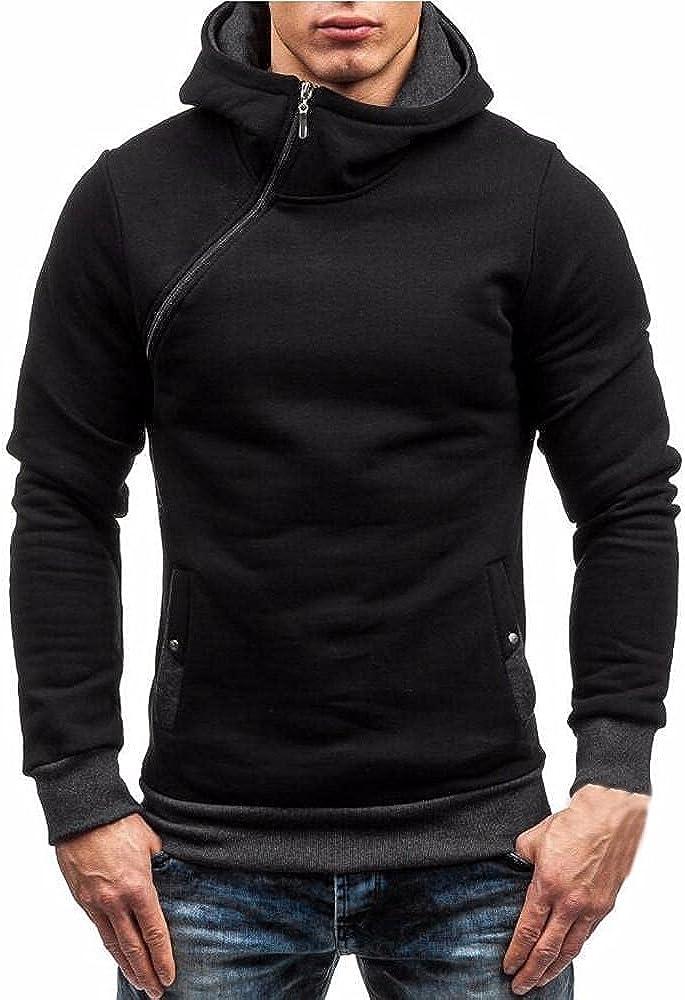 Slim fit Mens Hoodies Hooded Jacket Male Zipper Coat Hip Hop Hoodies Sweatshirts Hoody Sweatshirt Sportwear Tracksuit