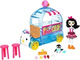 Mattel Enchantimals Wheel Frozen Treats Preena Penguin Doll & Playset FKY58, Playset y Mueca