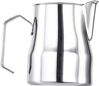 Baoblaze Tasse de Mousse de Lait de café d'acier Inoxydable Tasses de Mousse de Lait Latte Art cruche Outil pichet de Cuis...