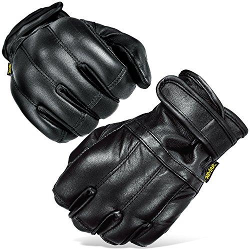 Black Snake Herren Quarzsandhandschuhe Quarzsand Handschuhe S-XXL Defender in schwarz Security Schwarz/Kevlar S
