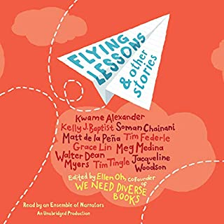 Flying Lessons & Other Stories                   By:                                                                                                                                 Ellen Oh - editor                               Narrated by:                                                                                                                                 Ellen Oh,                                                                                        Kwame Alexander,                                                                                        Meg Medina,                   and others                 Length: 4 hrs and 35 mins     42 ratings     Overall 4.5