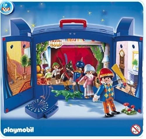 el más barato Playmobil - Teatro Teatro Teatro de Marionetas Maletín (4239)  costo real