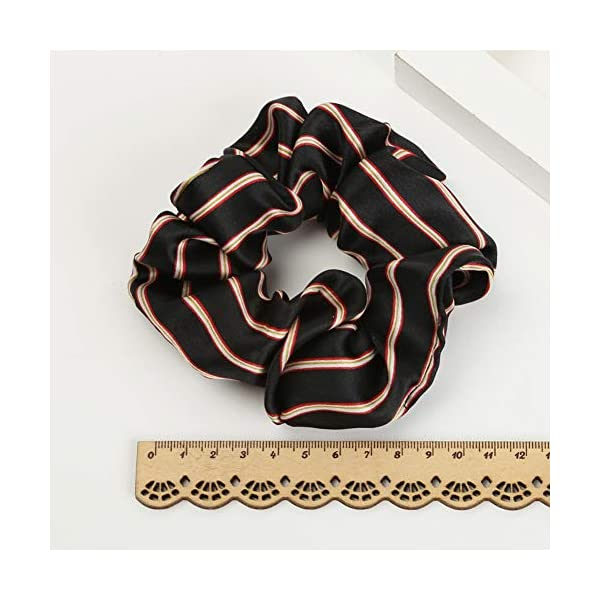 16 Pack Leopard Hair Scrunchies Scrunchies Elastic Rubber Band Hair Rope Bobbles Hair Ties 4