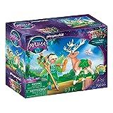 PLAYMOBIL Adventures of Ayuma 70806 Forest Fairy mit Seelentier, Ab 7 Jahren