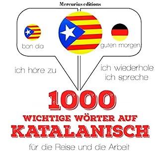 1000 wichtige Wörter auf Katalanisch für die Reise und die Arbeit Titelbild