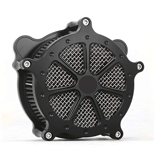 Black AIR cleaner intake system cover Fit For Harley IRON 883 XL sportster 1991-2019 air filters sportster 883 1200 Spoke 7 style