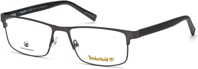 Eyeglasses Timberland TB Overseas parallel import regular item 1594 Matte Gunmetal High material 009