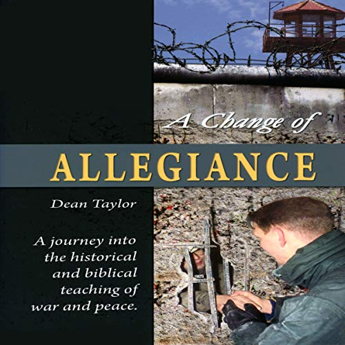 A Change of Allegiance audiobook cover art