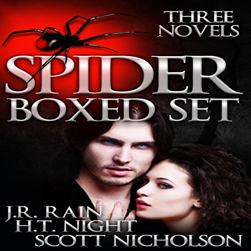 The Spider Trilogy audiobook cover art