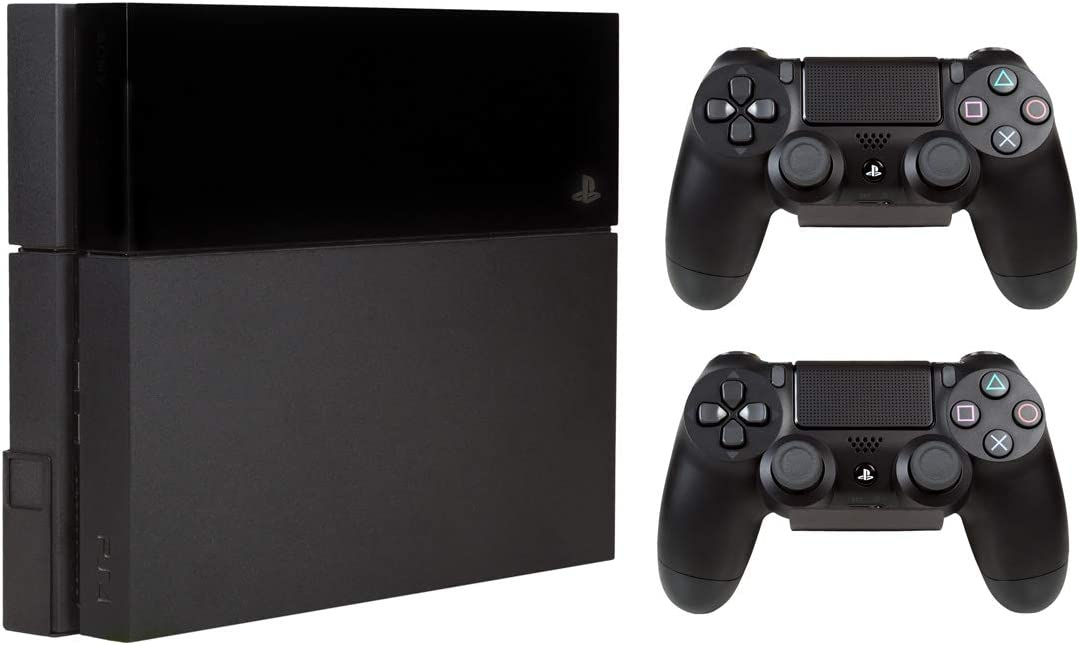 Hooked - Soporte pared PS4 + Soportes pared mandos PS4/XBOX (2 unidades)
