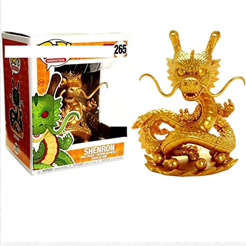 Pop Figures Dragon Ball Golden Shenron 265# Vinyl Action Figures Collection Model Toys For Children...