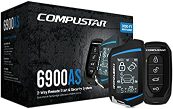 Compustar CS6900-AS All-in-One 2-Way Remote Start and Alarm Bundle w/ 3000 feet Range