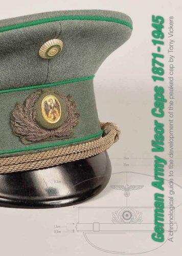 Tampas de viseira do exército alemão 1871-1945