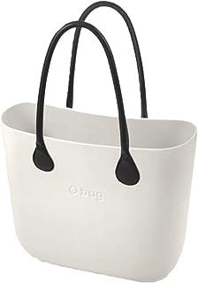 OBAG , Damen Henkeltasche Weiß Bianco 29x28x12cm