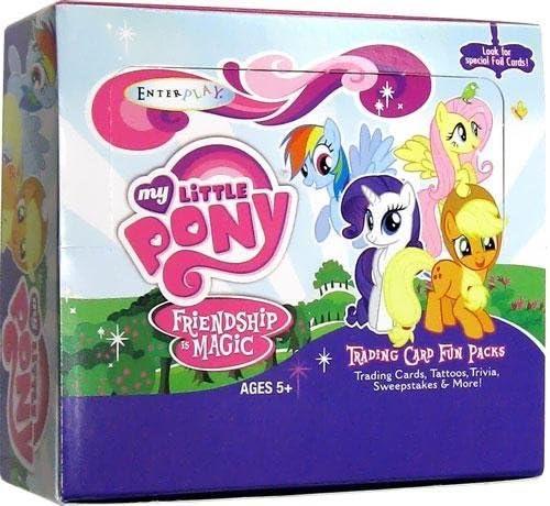 大決算セール SEAL限定商品 My Little Pony Friendship is Magic Pa Enterplay Card Trading Fun