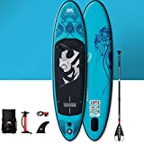 YUESFZ Kayaks y piraguas de mar Canoas Hinchables Tabla De Paddle Especial para Principiantes Económicos, Tabla De Surf Gruesa Resistente Al Desgaste, Kayak Inflable para Piscinas
