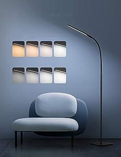 LED Helle Stehlampe, modernes Lese- und Arbeits Standlicht Dimmbare Verstellbare Schwanenhals-Anwendungsbeleuchtung Ideal ...