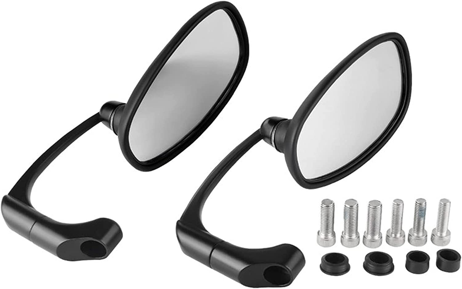 Jacksonville Mall New products, world's highest quality popular! CSZBH Motorbike View Mirror Motorcycle Rear Black M Retro