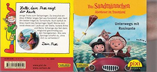 Unterwegs mit Rosinante - Ein Pixi-Buch 1840 - Einzeltitel aus Pixi-Serie 204 Das Sandmännchen - Abenteuer im Traumland