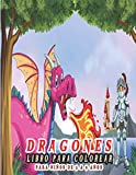 Dragones Libro Para Colorear para niños de 3 a 9 años: Fantástico libro de actividades e ideas de...