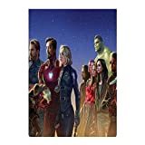 Personalized Garden Flag Avengers Infinity war 5k zh Yard Decorations, Home Decorative 12.5 x 18 Inch