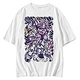 機動戦士ガンダムSEED Mobile Suit Gundam アニメ 漫画 Tシャツ メンズ/レディース Tシャツ/夏服 スポーツ プリント 半袖 個性的 無地 ゆったり 通気性 ファッション 大きいサイズ(XXXL)