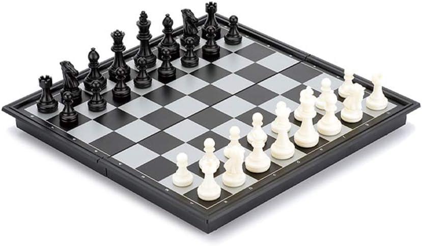 BIAOYU Chess Set Safety and trust SALENEW very popular! Plastic Magnetic Folding w Chessboard