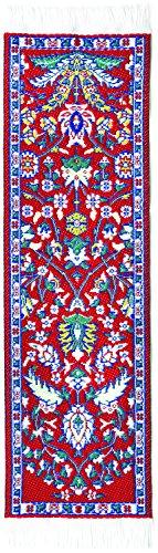 Orientalischer Teppich Lesezeichen Red Kayseri – authentischer gewebter Teppich