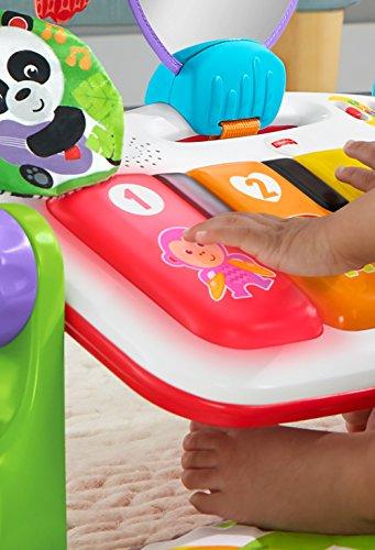 フィッシャープライス(fisherprice)あんよでキック!4WAYバイリンガル・ピアノジム【0か月~赤ちゃん幼児子ども幼児ベビージムプレイジムプレイマットメリー】FWT10