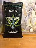 Medical Marijuna glass pipe pouch