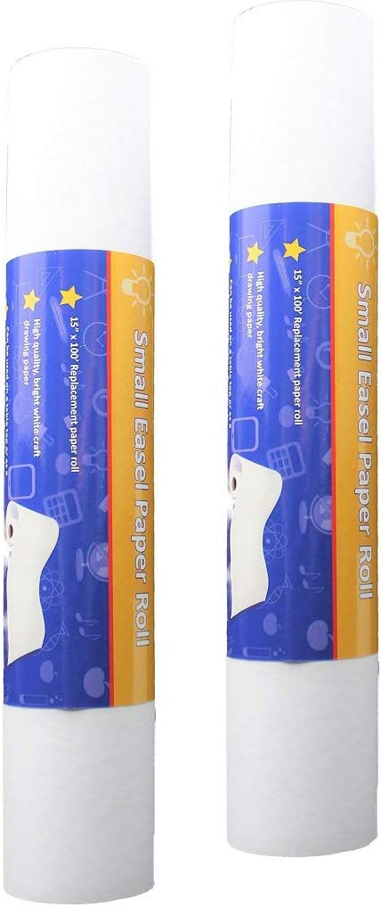 Pack of 2 Easel Paper 100ft x 15in Award-winning store Rolls San Antonio Mall