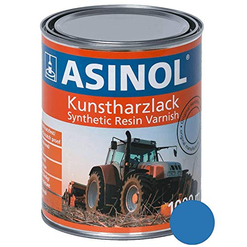 ASINOL RAL 5015 himmelblau hochglänzend 1 Liter, 1.000ml Kunstharzlack