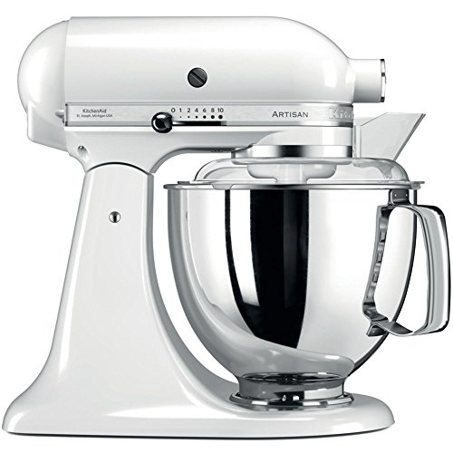 KitchenAid 144277 Artisan 5KSM175PSEWH, 300 W, Weiß