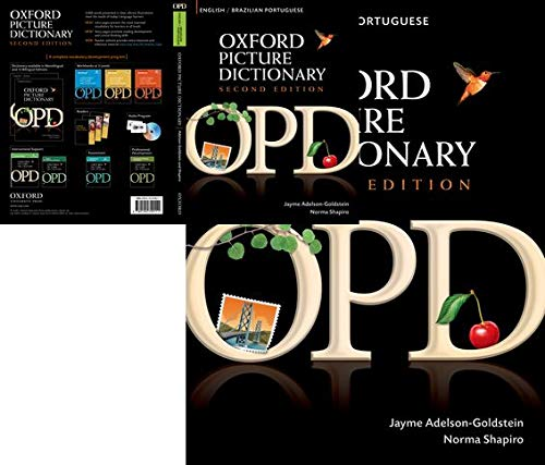 Oxford Picture Dictionary: English/Brazilian Portuguese: Bilingual Dictionary for Brazilian Portuguese Speaking Teenage and Adult Students of English