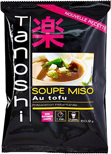 Tanoshi Soupe Miso Tofu 60,9g