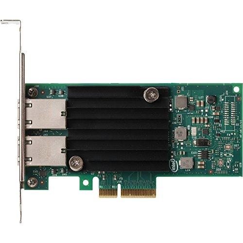Intel X550-T2 Interno Ethernet 10000Mbit/S Adaptador y Tarjeta de Red - Accesorio de Red (Interno, AláMbrico, Pci-E, Ethernet, 10000 MBit/S, Verde, Plata)