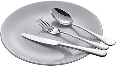 Logo Dinnerware Set Dinner Plate Steak Cutlery Plate Set Household Tableware Full Set Stainless Steel Dinnerware Dishes Set Dinner Plates
