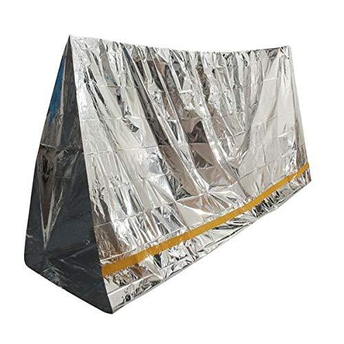 Raitron Emergency Aluminium Zonwering Zonwering Deken Eerste Hulp Isolatie Slaapzak Outdoor Camping Survival 100 X 200cm