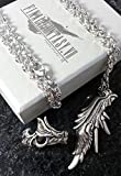 Final Fantasy VII Sephiroth Ring & Necklace | FF7 Cosplay Squall Griever Dissidia Cloud Serah Cosplay Anime