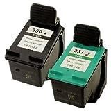 Prestige Cartridge 350 / 351 Pack de 2 Cartouches d'encre compatible avec Imprimante...