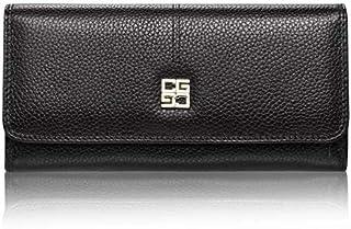 Wallet Women Genuine Leather black Leather Lady Purse women Wallet