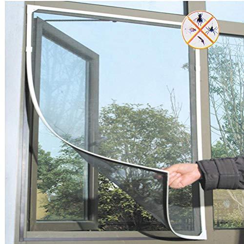 PiniceCore Fly Mosquito Net Window Mesh Chambre d'écran Cortinas Mosquito voilages Rideau de Protection écran Fly Encart