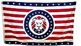 PRINGCOR - Donald Trump MAGA Lion Flag - Make America Great Again Flag Republican 3x5 3 x 5