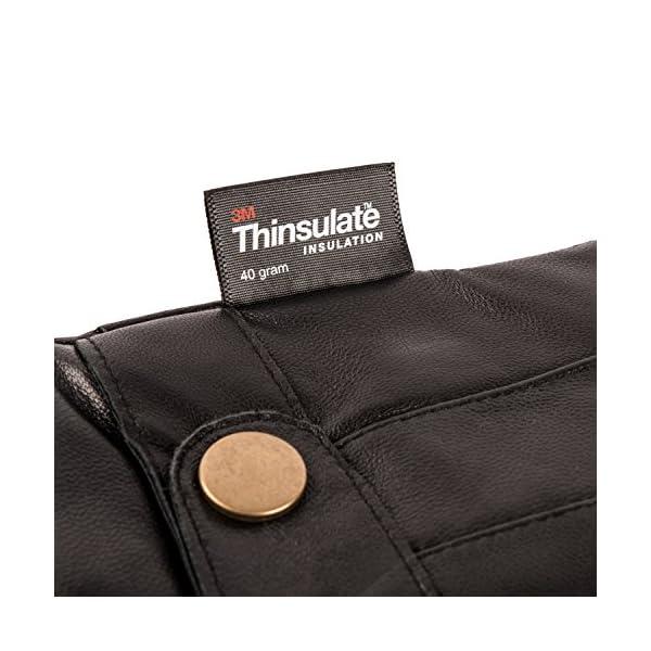 Pierre Cardin Luxury Mens Leather Winter Gloves 4