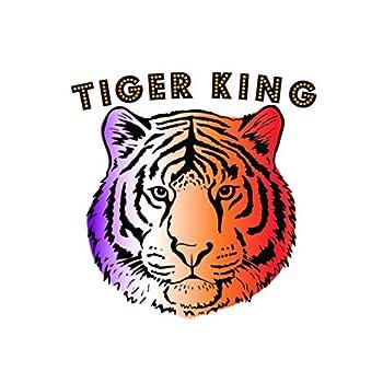 Tiger King set of 10 premium waterproof metallic temporary foil Flash Tattoos - Party Favor Halloween party supplies waterproof temporary tattoo tiger tattoo tiger stripe exotic