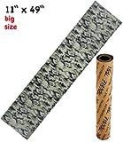 Trouble 11' x 49' Longboard Grip Tape Skateboard Griptape Sheet Bubble Free Camouflage Camo (L11)
