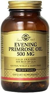 Solgar Evening Primrose Oil Supplement, 500 mg, 180 Count (Pack of 3)