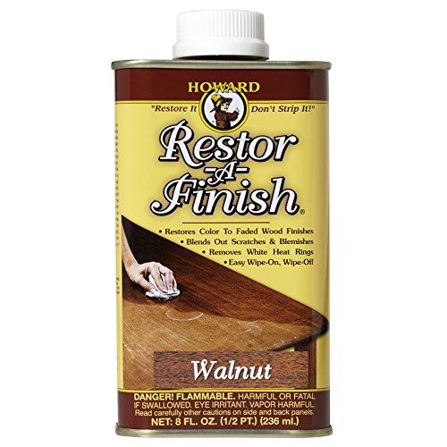 Howard Products RF4008 Restor-A-Finish, 8 oz, Walnut